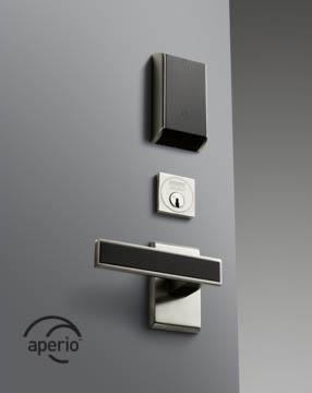 Sargent Aperio lock with designer lever