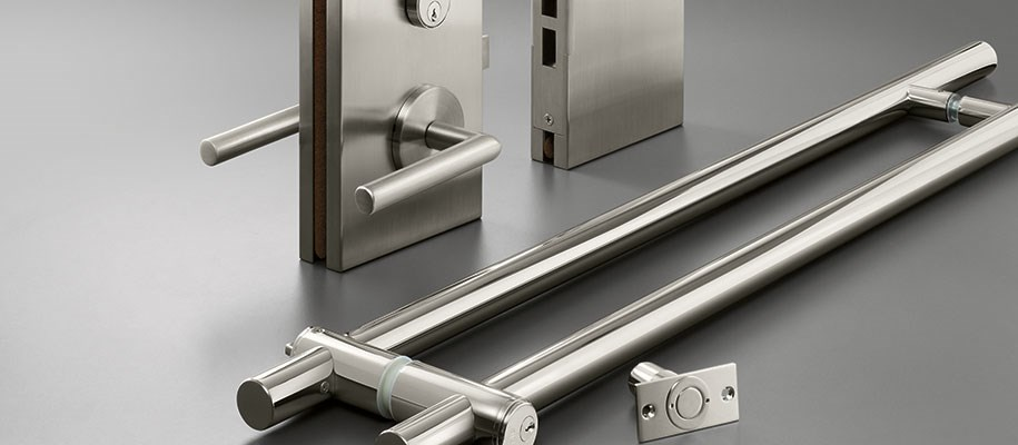 ASS Abloy glass door hardware items