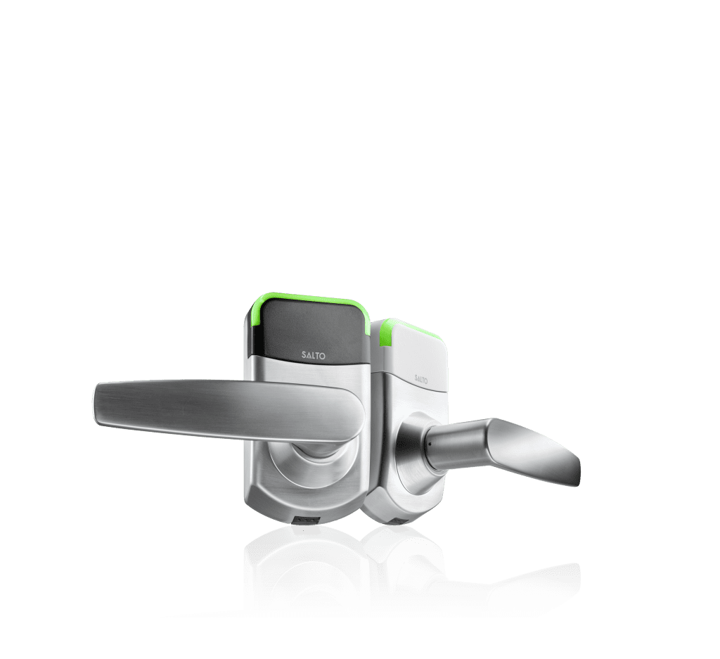 Salto XS4 Mini locks in black and white