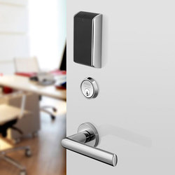 IN120 Wi-Fi lock with black card reader