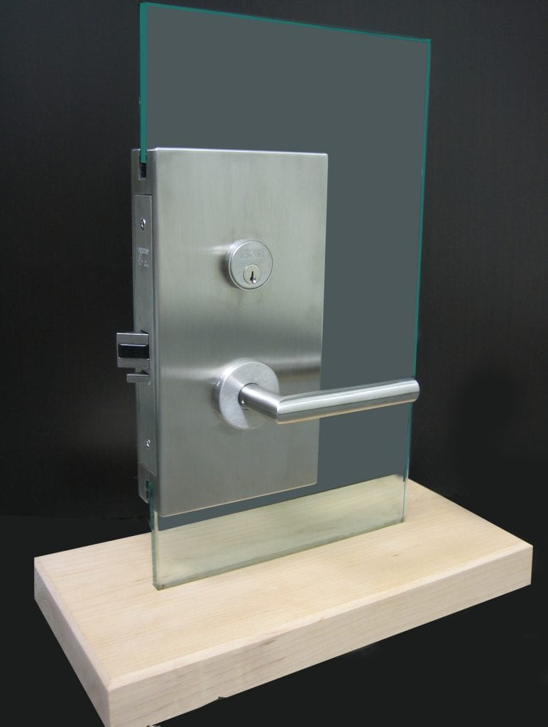 GBI patch lock on display mount
