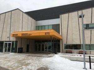 Main Entrance at Pan Am Sports Centre