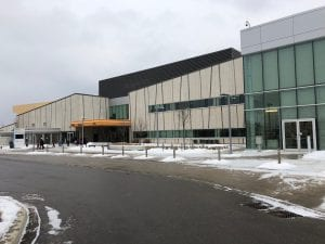 Exterior Shot of Pan Am Centre