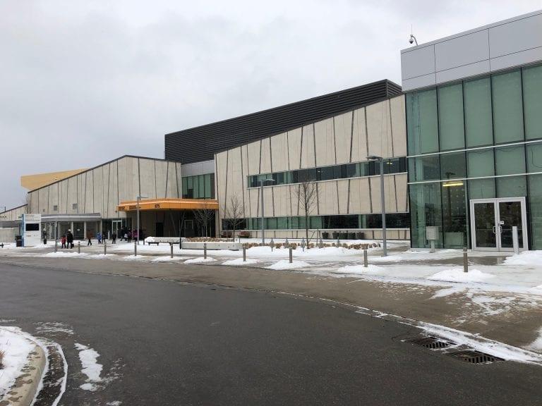Exterior Shot of Pan Am Centre
