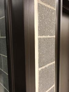 Custom hollow metal frame profile at CEIE U of T