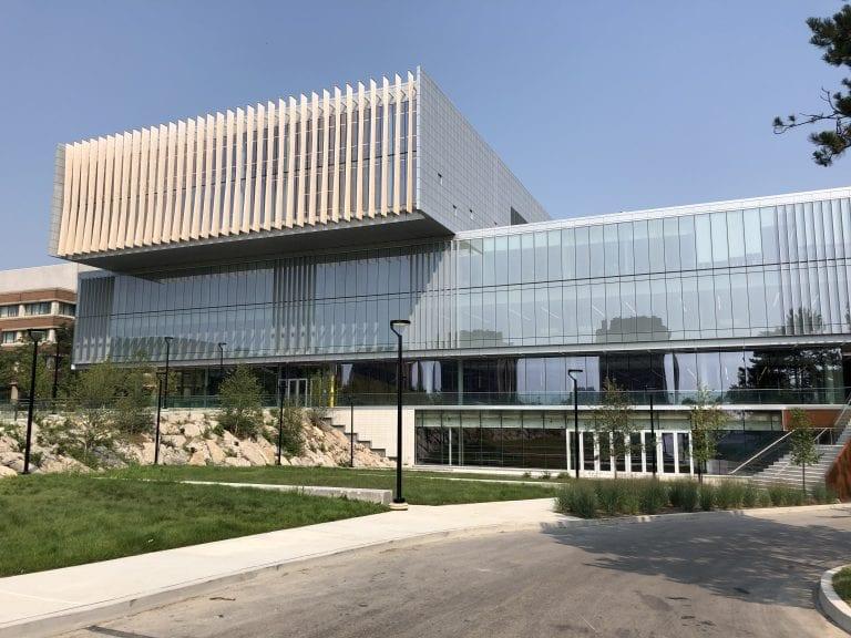 Exterior shot of York University Student Centre