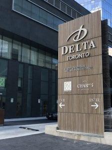 Delta Hotel Sign