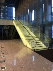Stair at Bremner Tower
