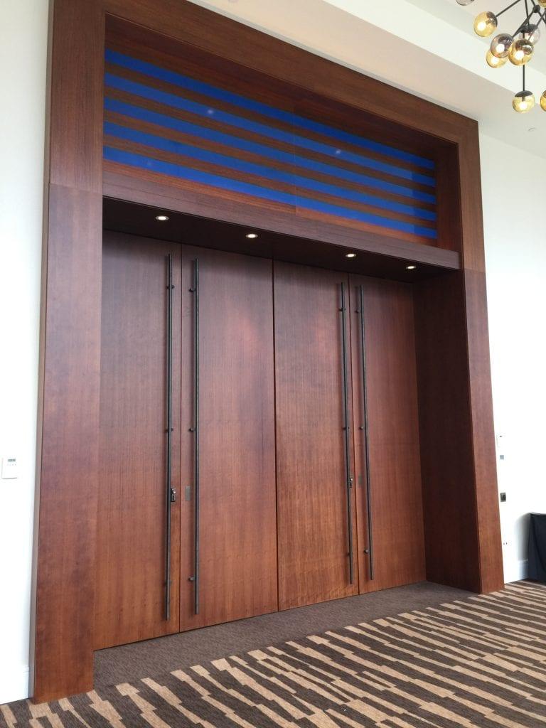 Delta Hotel - Ballroom Doors