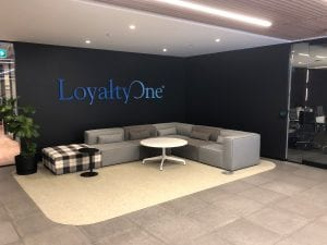 LoyaltyOne lobby and reception area