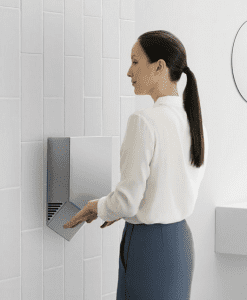 Person Using Dyson V Blade Dryer