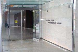 BSIA - Glass Entrance